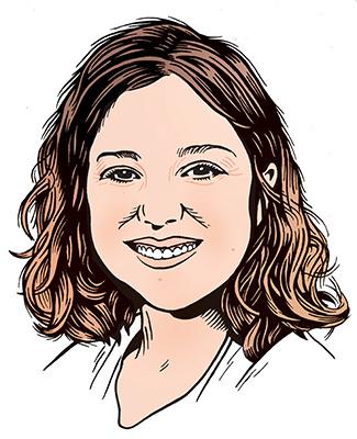 les auteurs du 1 : Aline Gubri