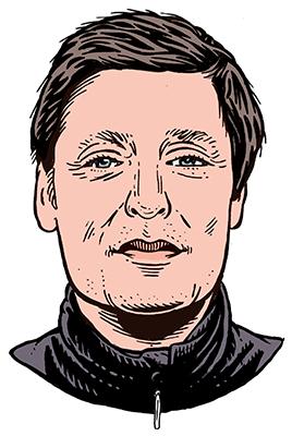 les auteurs du 1 : Benoît Larigaldie