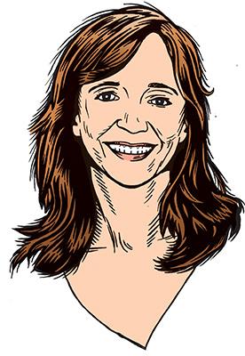 les auteurs du 1 : Corinne Klomp