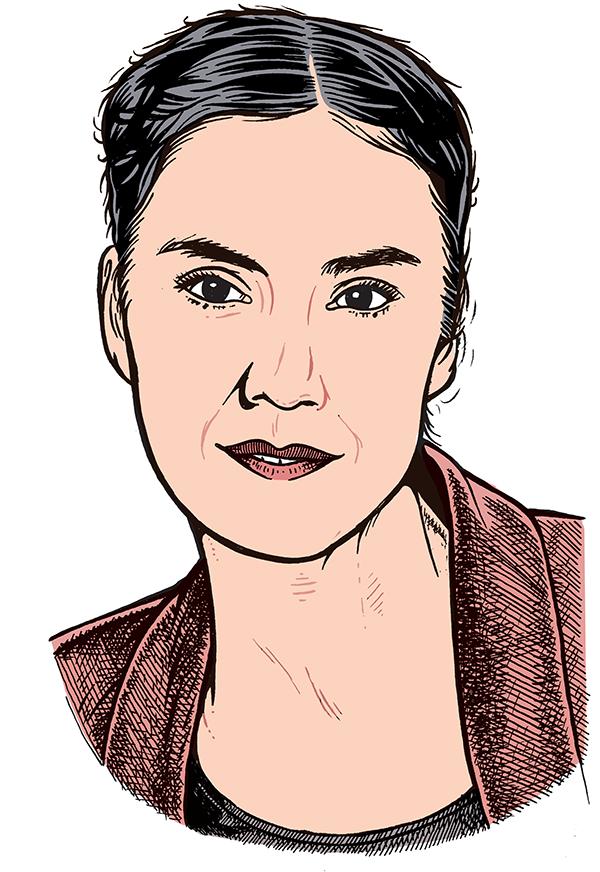 les auteurs du 1 : Cécile Ladjali