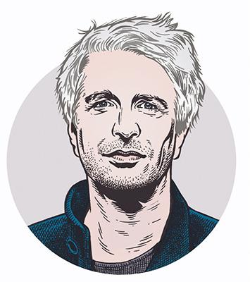 les auteurs du 1 : Éric Vuillard