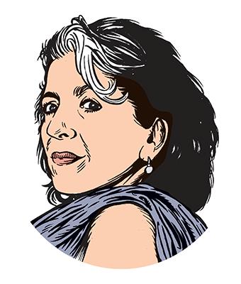 les auteurs du 1 : Fariba Hachtroudi