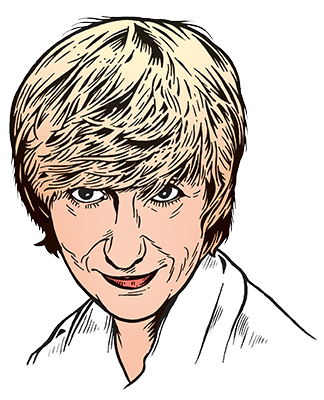 les auteurs du 1 : Françoise Sagan
