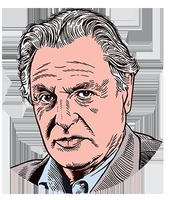 les auteurs du 1 : Gérard Garouste