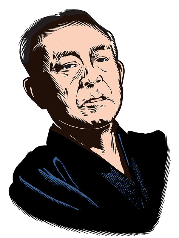 les auteurs du 1 : Junichirô Tanizaki