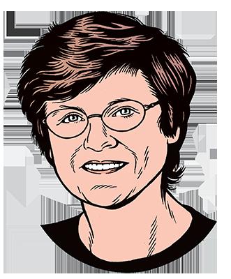 les auteurs du 1 : Katalin Karikó