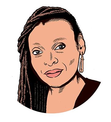 les auteurs du 1 : Léonora Miano