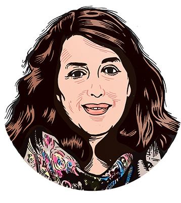 les auteurs du 1 : Myriam Levain