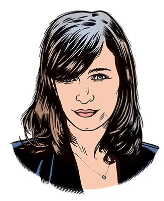 les auteurs du 1 : Rachel Vanier