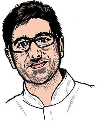 les auteurs du 1 : Sébastien Béguerie