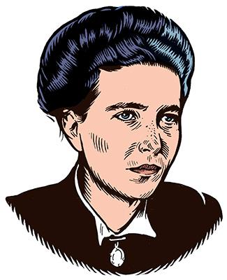 les auteurs du 1 : Simone de Beauvoir