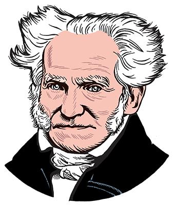 les auteurs du 1 : Arthur Schopenhauer