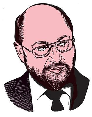 les auteurs du 1 : Martin Schulz