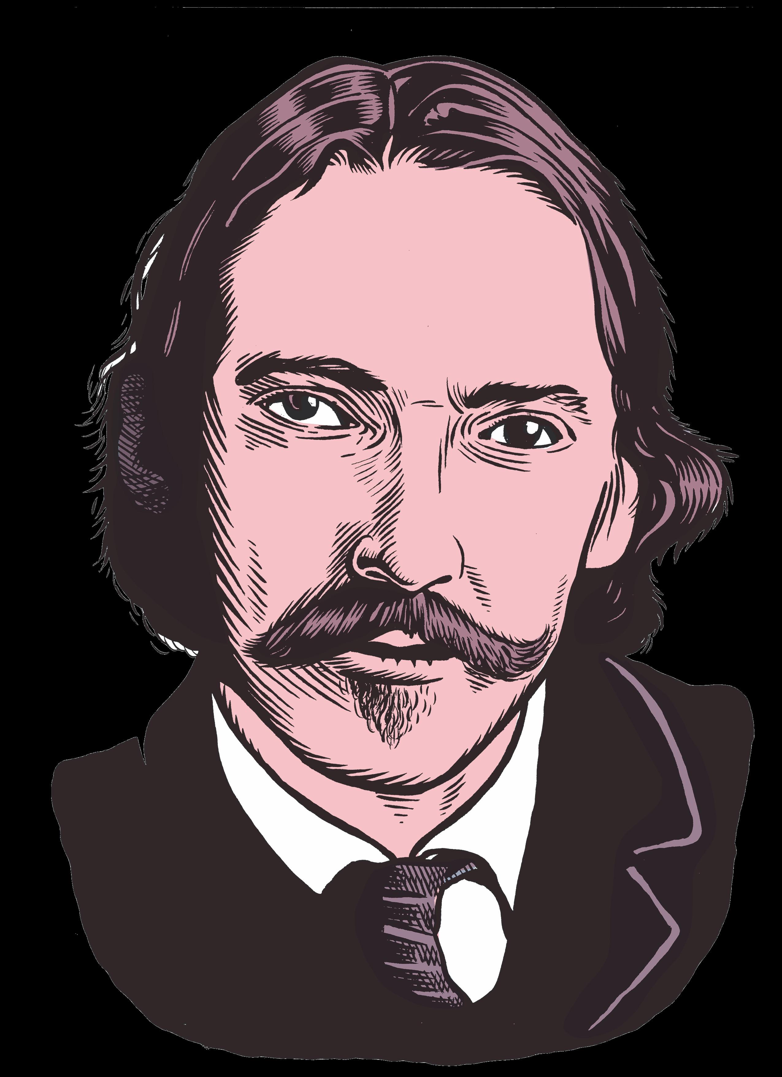 les auteurs du 1 : Robert Louis Stevenson