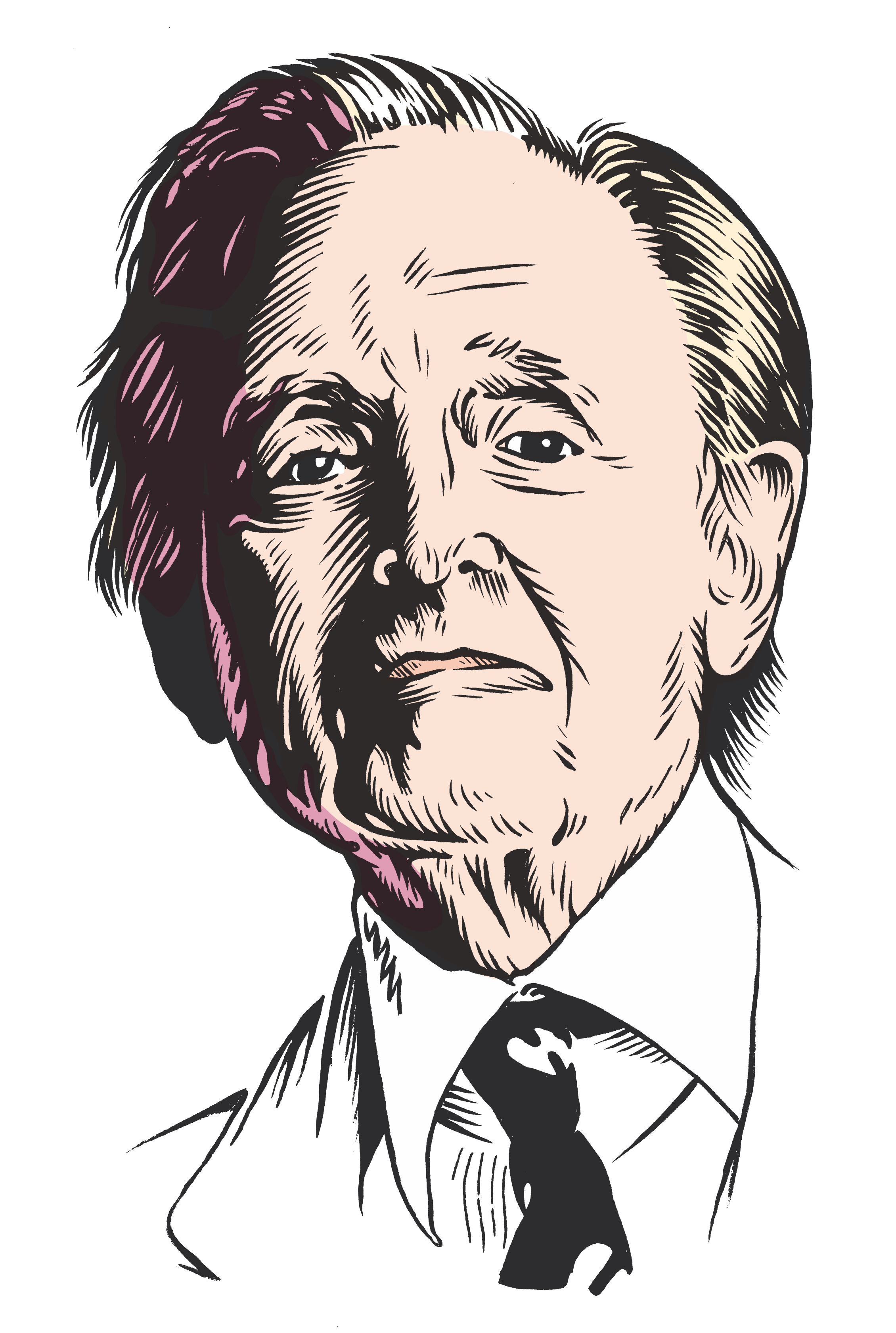 les auteurs du 1 : Tom Wolfe