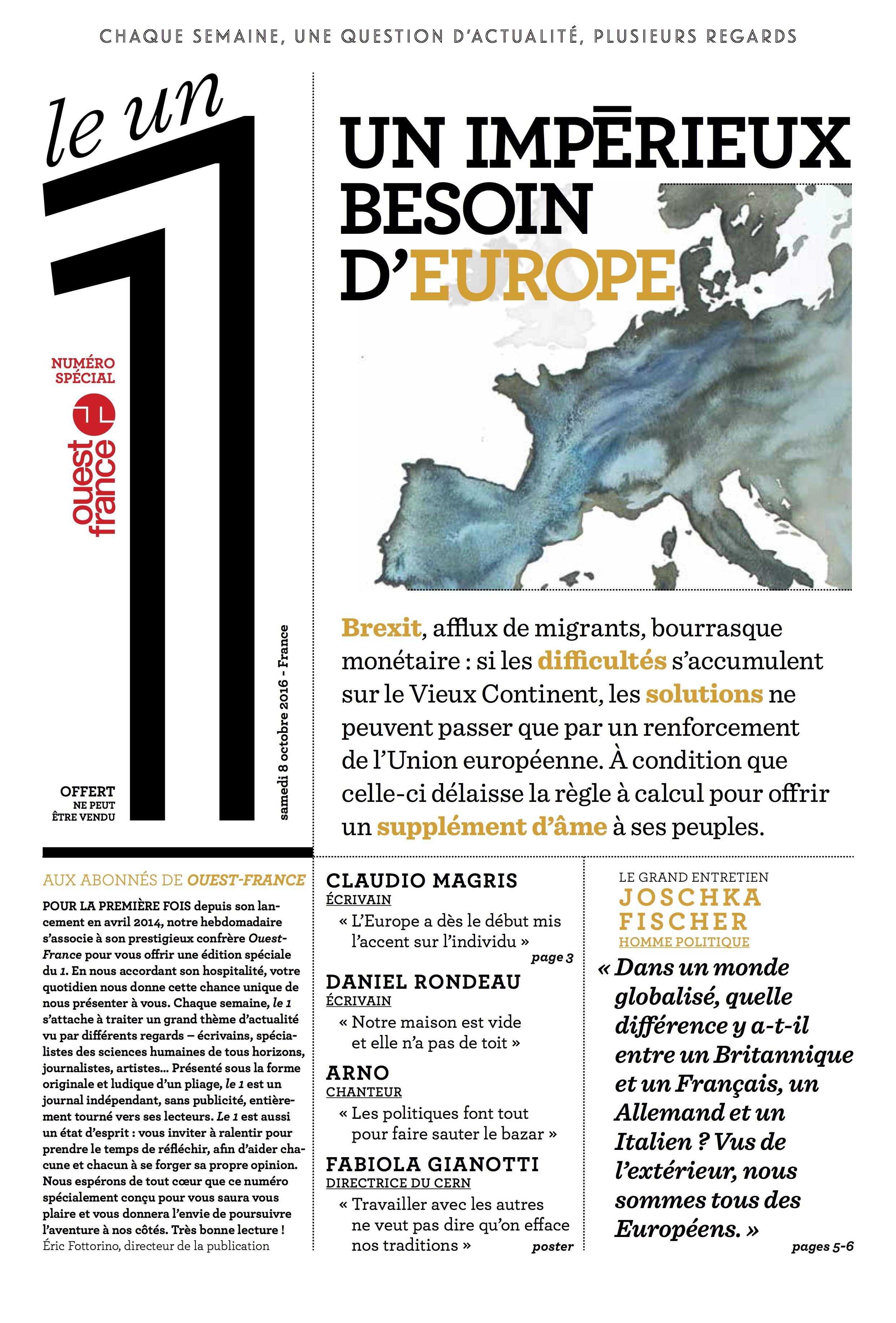 Un impérieux besoin d'Europe